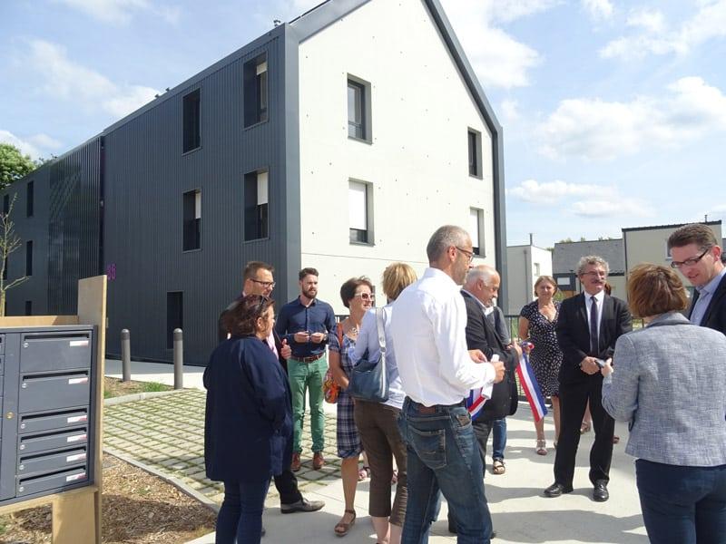 Inauguration 16 logements à Corps-Nuds